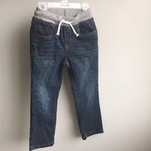 Cat & Jack Toddler boy skinny blue jeans 3T